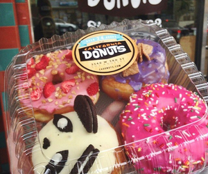 donuts, oreo, and pink image