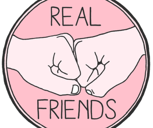 friends, real, and real friends image