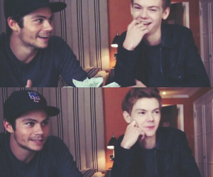 thomas, thomas sangster, and the maze runner image
