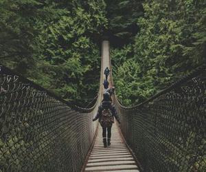 travel, adventure, and bridge image