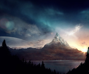 mountains, nature, and beautiful image