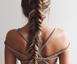 braid, fashion, and long image