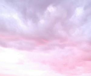 cloudy, purple, and sky image