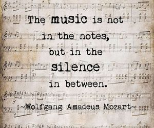 music, quotes, and Mozart image