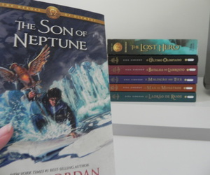 book, the lost hero, and books image