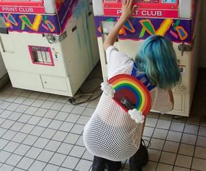 rainbow, aesthetic, and grunge image