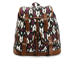backpack, purple, and fashion image