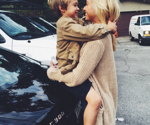 family, boy, and blonde image