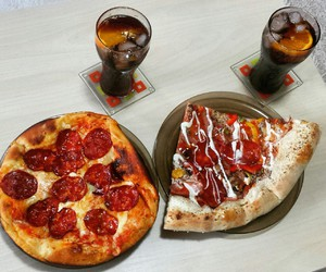 cola, food, and coke image
