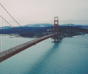 bridge, city, and san francisco image