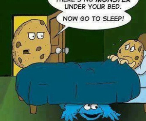monster, cookie, and funny image