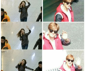 airport, couple, and lee min ho image