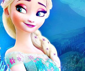 elsa, disney, and frozen image