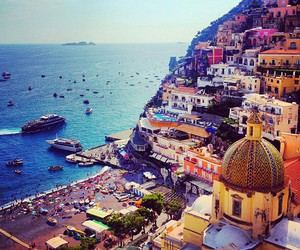 summer, travel, and italy image