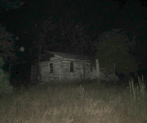 Darkness, forest, and house image