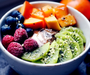 fitness, healthy, and healthy food image
