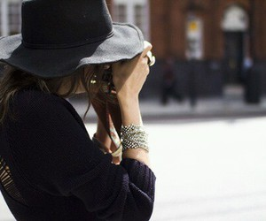fashion, photography, and hat image