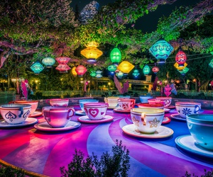 amazing, disneyland, and mad tea party image