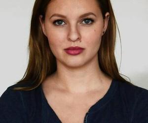 blueeyes, brownhair, and girl image