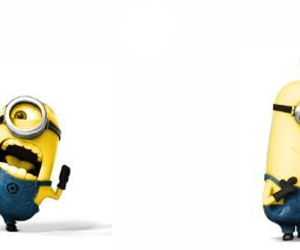 minions, r, and facebook cover image