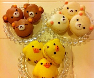 Cookies, kawaii, and rilakkuma image