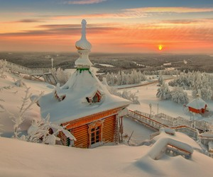 natural, paradise, and russia image