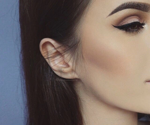 beauty, contour, and highlight image