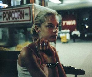 girl, smoking, and Jaime King image