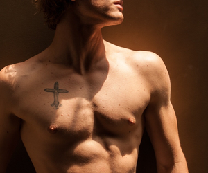 abs, alex pettyfer, and blonde image