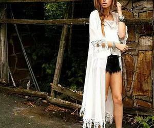 boho, hippie, and white image