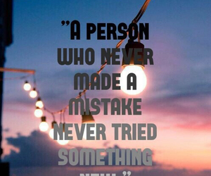 mistakes, quote, and wallpaper image