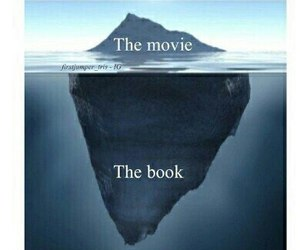 book, movie, and true image