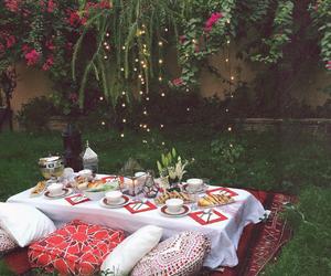 dinner, Ramadan, and food image