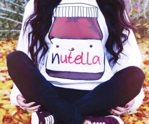 nutella, girl, and cute image