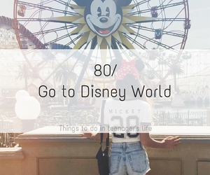 amusement park, boy, and mickey image