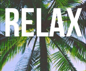 relax, beach, and wallpaper image