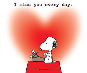love, snoopy, and quote image