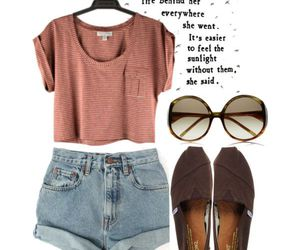 clothes, outfit, and toms image