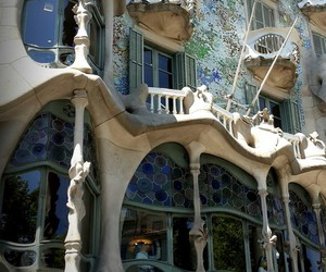 architecture, Barcelona, and Gaudi image