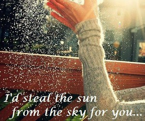 sun, quote, and sky image