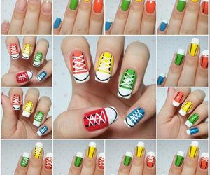 nails, shoes, and nail art image