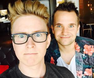 youtuber, tyler oakley, and smallzy image