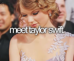 Taylor Swift and meet image