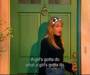 girl, quotes, and 90s image