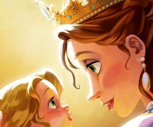 rapunzel, princess, and tangled image