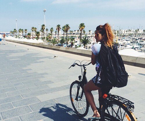 adventure, bike, and fun image