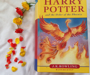 book, book lovers, and flowers image