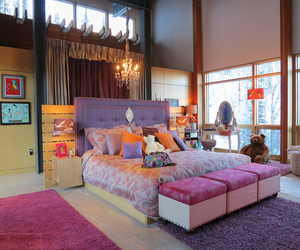 bedroom, diy, and pink image