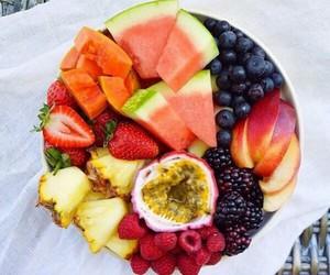 fitness, fresh, and fruit image