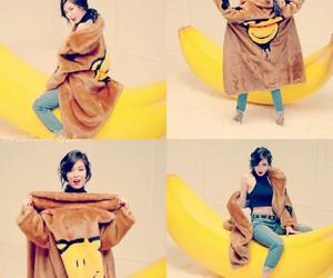 hyuna, banana, and kpop image